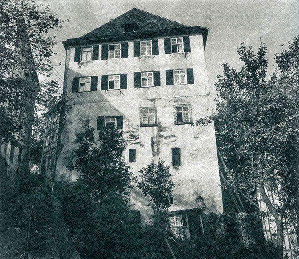 Das Horber Kloster vor der Sanierung 1987