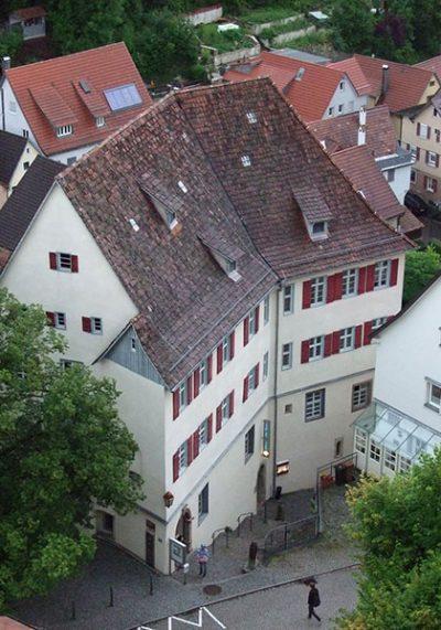 Kloster Horb vom Schurkenturm aus