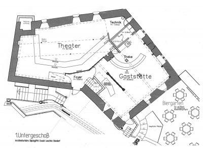 1. Untergeschoss Kloster Horb